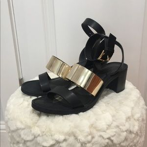 Zara Chunky Heeled Sandals
